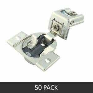 "50 Pak Blum COMPACT BLUMOTION Soft Close 39C 1-1/4"" Overlay Hinge 39C355B.20 NEW"