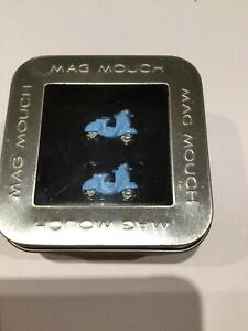 BNIB SCOOTER MOPED Cufflinks in Presentation Gift Box by MAG MOUCH RRP £25