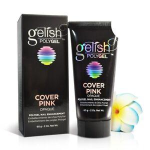 Nail Harmony Gelish PolyGel Cover Pink - Opaque 2oz #1712006