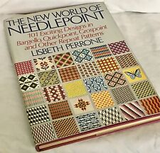 1972 Book - New World of Needlepoint, 101 Designs in Repeat Patterns