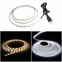 3528 USB Tira De Luces LED Blanco / Blanco Caliente for TV Background Lighting