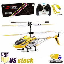 Syma S107G Rc Helicopter Remote Control S107 Mini Aircraft Alloy Gyro Yellow Toy