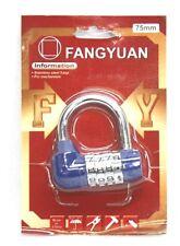 Dial de código de 502413 número de 4 dígitos combinación candado seguridad cerradura de seguridad