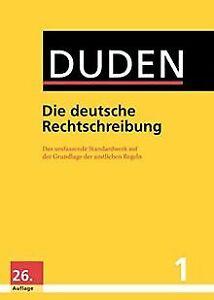 Duden - Die deutsche Rechtschreibung: Das umfassende Sta... | Buch | Zustand gut