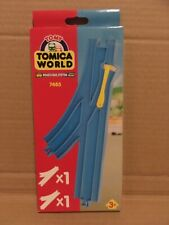 TOMY Train Trackmaster Tomica World - POINTS RAIL - 7483 BOXED *free P+P*