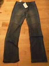 Vertbaudet Boys Biker-Style Indestructible Jeans Pant 11-12 Years BNWT Stonewash