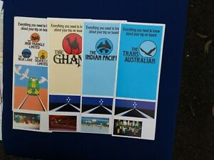 Ghan,Indian Pacific,Trans Australian,Blue Lake,Silver City,Iron Triangle
