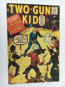 1960 Marvel Western Comic TWO-GUN KID #53 - John Severin Art - VG/F
