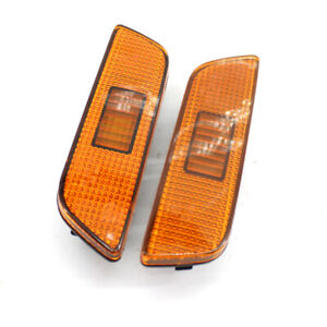 A Pair Front Left+ Right Side Marker Lamp Light NO BULB For Volvo S80 2002-2006