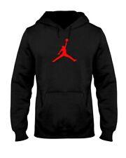 Red Jordan Jumpman Jerzees 50/50 Hoodie