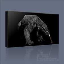 Dragón De Komodo Serie Lagarto Gigante Impresionante Imagen Lienzo Arte Impresión Arte Williams
