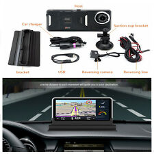 New 7.0''HD Car DVR Rear view GPS Navigation Android 4.4 with DVR Camera FM WIFI
