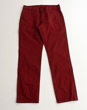 Levis Burgundy Red Slim Straight Chino Pants Size 29 X 30