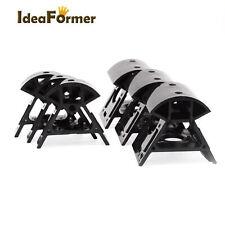 1 Set 3D Printer Plastic Black 2020 Delta Vertex Kossel 3Pcs Bottom+3Pcs Top.