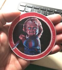 CHUCKY of Child's Play Movie  Laptop Sticker