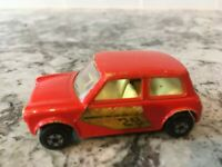 Vintage Matchbox Series #29 Racing Mini 1970 Lesney England Superfast Car