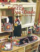 Crochet A Dozen Snazzy Doo-Dads crochet kitchen home decor pattern by Annie