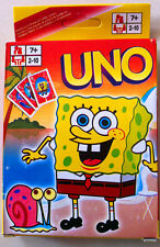 Brand New Spongebob UNO Playing Cards Games Number 1 For Family Fun