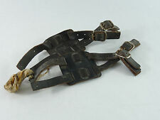 Brooks Toe Straps Double Leather Pedal Straps Vintage Road Racing Bicycle  NOS