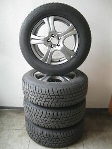 """4 Winterreifen 235 / 65 R17 Mercedes ML-R-Kl. W251 / W164 Platin 17"""" Alufelgen"""