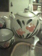 JAPAN Japanese TEA POT AND CUPS Tea Set ASIAN