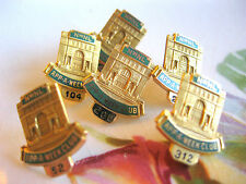 6 PINS HISTORIC MINN MN LORING PARK NORTHWESTERN LIFE BUILDING 10k YELLOW GOLD