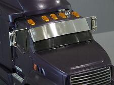 Front Aluminum Sun Visor Plate for Tamiya RC 1/14 Ford Aeromax Semi Truck