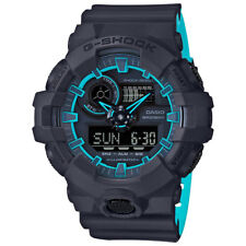 -NEW- Casio G-Shock Black Watch with Blue Accents GA700SE-1A2