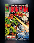 COMICS: Marvel: Iron Man #4 (1968), Unicorn app - RARE