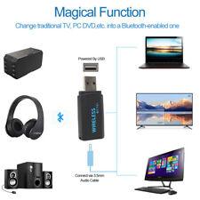 Adaptador USB inalámbrico de audio estéreo 4.2 transmisor Bluetooth  Para tv pc.
