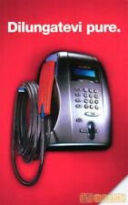 *G 1699 201 C&C 3881 SCHEDA TELEFONICA USATA TELEFONO PUNTOTEL