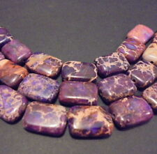 LOT 10 PERLE PIERRE JASPE OCEAN VIOLET INDE 13mm PURPLE STONE BEADS JASPER INDIA
