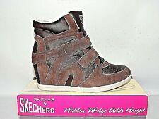 3023f5ffd9136 Skechers SKCH 3 Black Concealed Wedge Ankle BOOTS UK Size 4. Eu37.