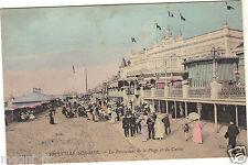 14 - cpa - TROUVILLE SUR MER - La promenade de la plage et du casino ( i 1939)