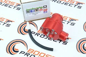 Boomba Racing Blow Off Valve BOV Red for 2015 + Subaru WRX / 2014 + Forester XT