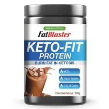 FATBLASTER KETO-FIT PROTEIN 300G CHOCOLATE FLAVOUR BURN FAT IN KETOSIS KETO FIT
