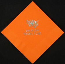 750 Personalized luncheon napkins custom printed wedding napkins free shipping