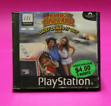THE DUKES OF HAZZARD II 2 DAISY DUKES IT OUT PS1 🔮AUSSIE SELLER🔮 EX-RENTAL !!!