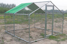 New Metal Chicken RUN 4M X 4m Walk in run For Cat Rabbit Ducks Hens