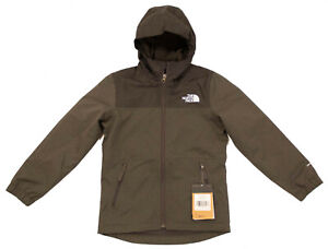 North Face Youth Boys Warm Storm Jacket - Grey Size S Small (7/8) - New w/Tags