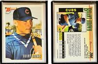 Brant Brown Signed 1993 Bowman #284 Card Chicago Cubs Auto Autograph