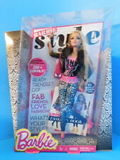 Barbie Style Doll 100 + Looks  Rooted Lashes Articulated New! Pink Lux