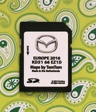 MAZDA NB1 TomTom SD CARD Navi Map 2016 EUROPE SAT NAV 2,3,5,6,CX-3,CX-5,MX-5