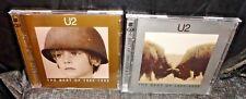 U2 The Best Of 1980-1990 & The Best Of 1990-2000 (CD's, 4-Discs Between The 2)