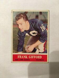 1964 Philadelphia Frank Gifford Card