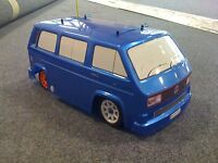 T25 CAMPER VAN VW Bus Kamtec  Tamiya M Chassis ABS + DECALS
