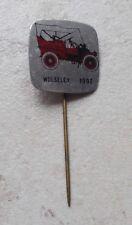 Badge Vintage Pins Auto Automobile WOLSELEY UK ancien 1960s modèle 1902