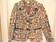 Isabella's Journey Signature Ladies Size Small/Med Beige Butterfly Jacket