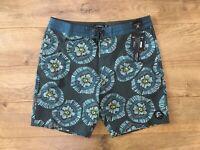 "O'NEILL Anemone Cruzer Shorts 18"" Boardshorts Gray Blue SZ 32 ( SP0106005 ) NWT!"