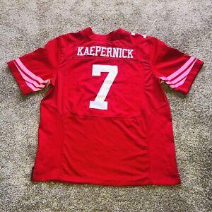 Nike Colin Kaepernick San Francisco 49ers Superbowl XLVII Jersey #7 Mens Size 48